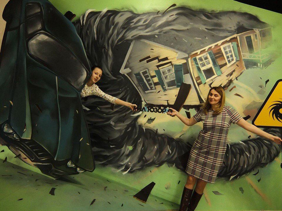 Окрашивание стен граффити на заказ