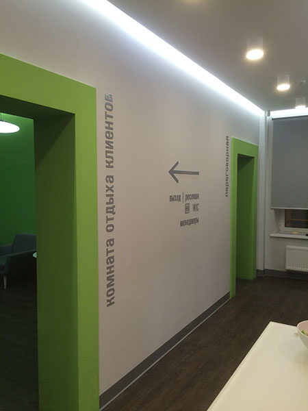 Навигация в офисном пространстве