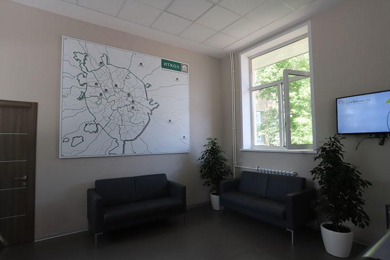 Навигационная карта объектов