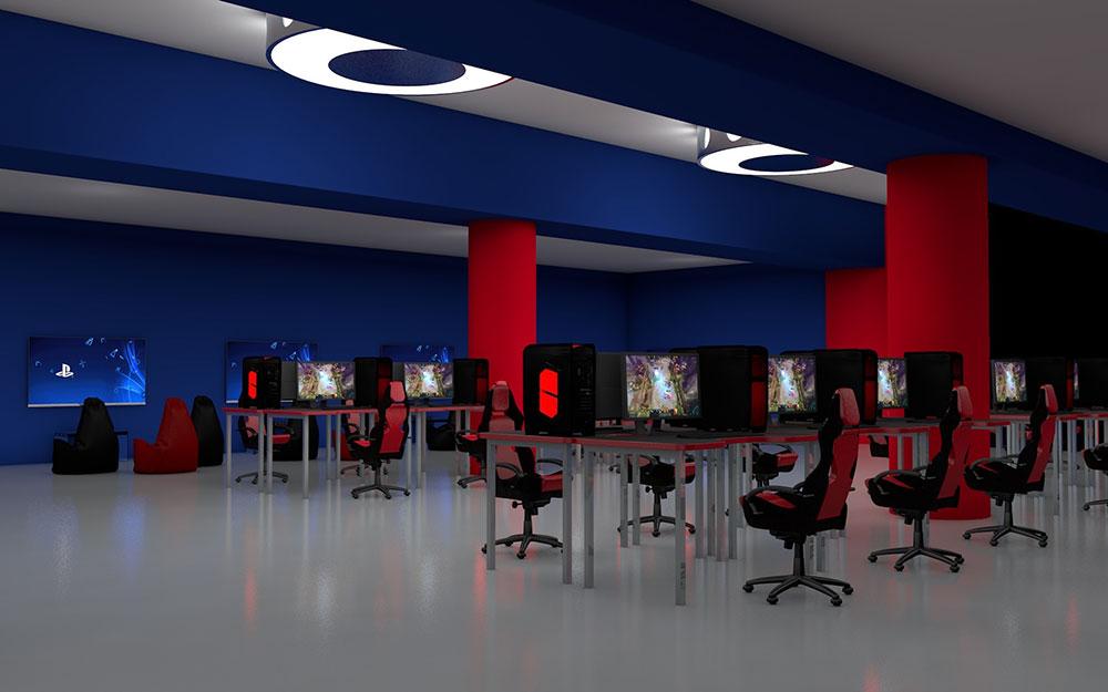 3D проект Геймзоны