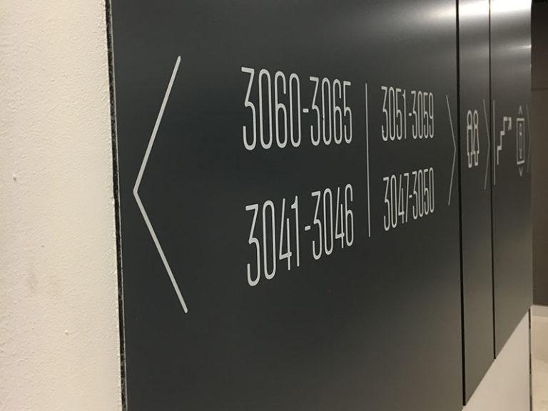 Комплексная система навигации в бизнес центре