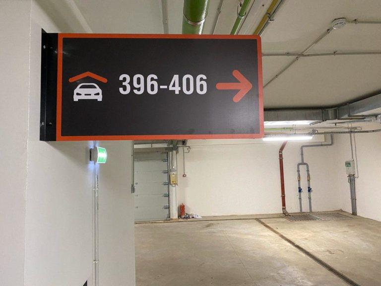 Навигация на паркинге