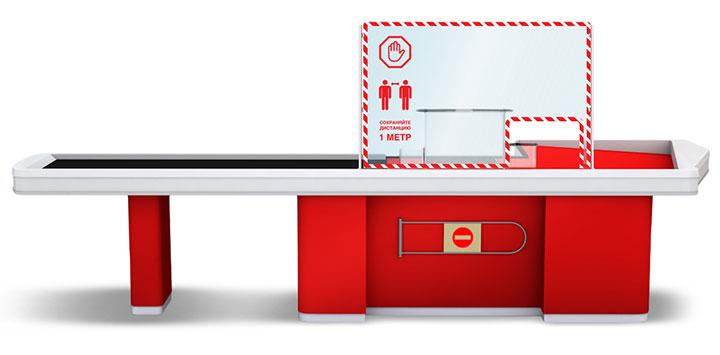 Описание Защитное прозрачное стекло, Выполняет барьерную функцию и защищает от непосредственного контакта с аудиторией. Зона применения Кассовые зоны, зоны обслуживания клиентов и покупателей, ресепшн и коммуникационные зоны, ресепшен в отеле, гостинице, шведский стол, линия раздачи пищи, столовые, магазинные прилавки, бары, рестораны, офисы (перегородки между столами). Основные свойства Помогает создать видимое ограждение от прямого контакта Основные преимущества. Гибкость и адаптация под любое место установки, прочность, скорость изготовления.