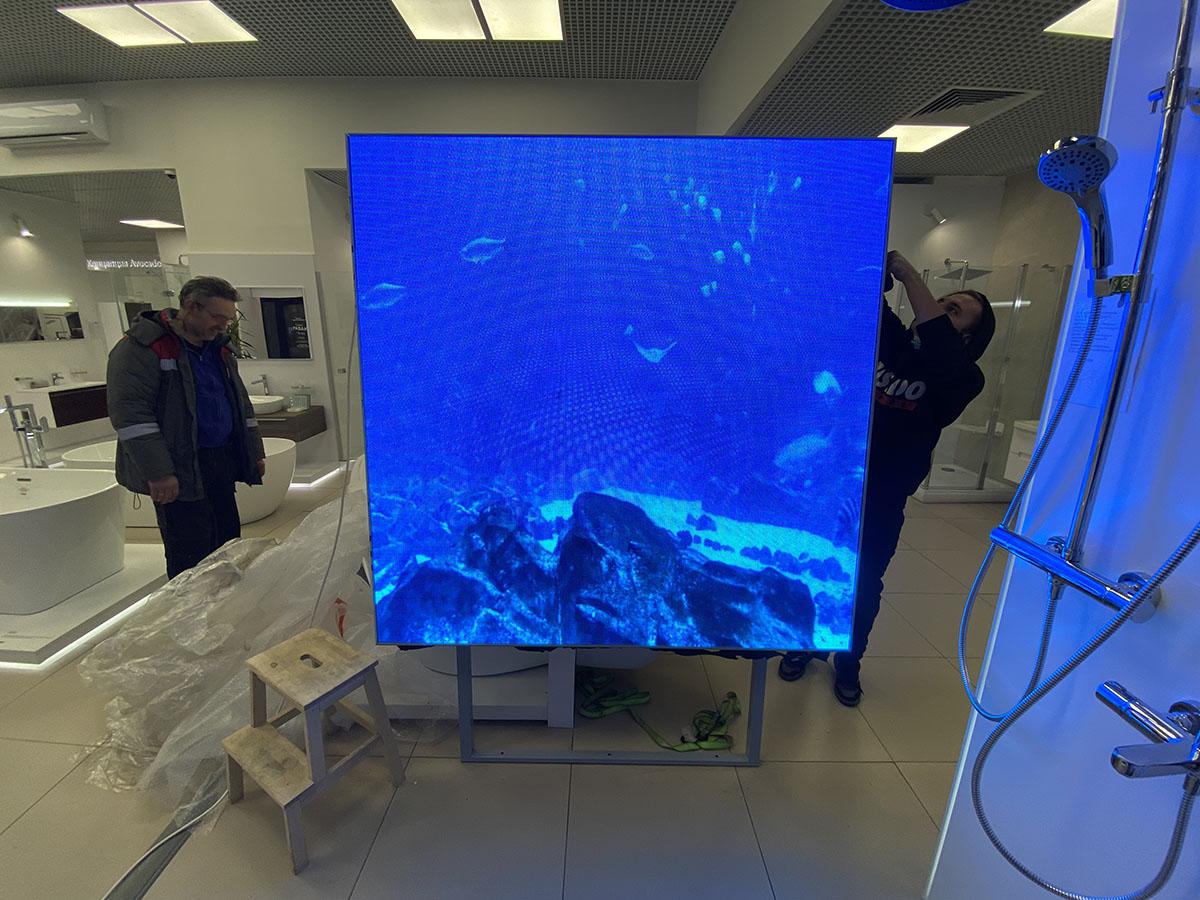 Установка Светодиодного Экрана (Digital) в Москве