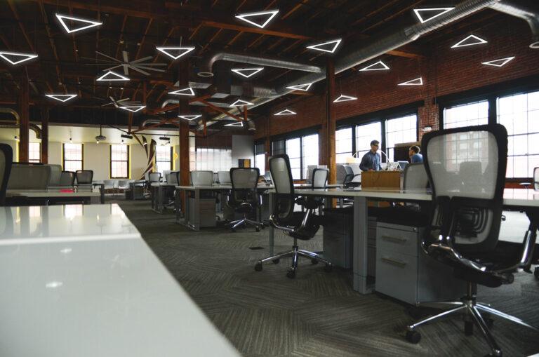 Визуализации офисного освещения